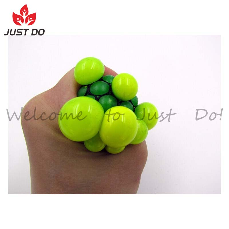 Stress Relief Squeeze Grape Randomly Mesh Squishy Balls