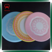 Custom print different sizes paper plate manufacturing process & Paper plate Paper plate direct from Guangzhou E Color Packing Co ...
