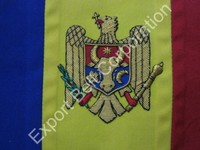 Hand Embroidered Flags & Pennant | Gold Wire Embroidered Flags