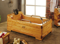 Better man Classic Wooden Bathtub/Soaking hot tub/outdoor bathtub for disabled
