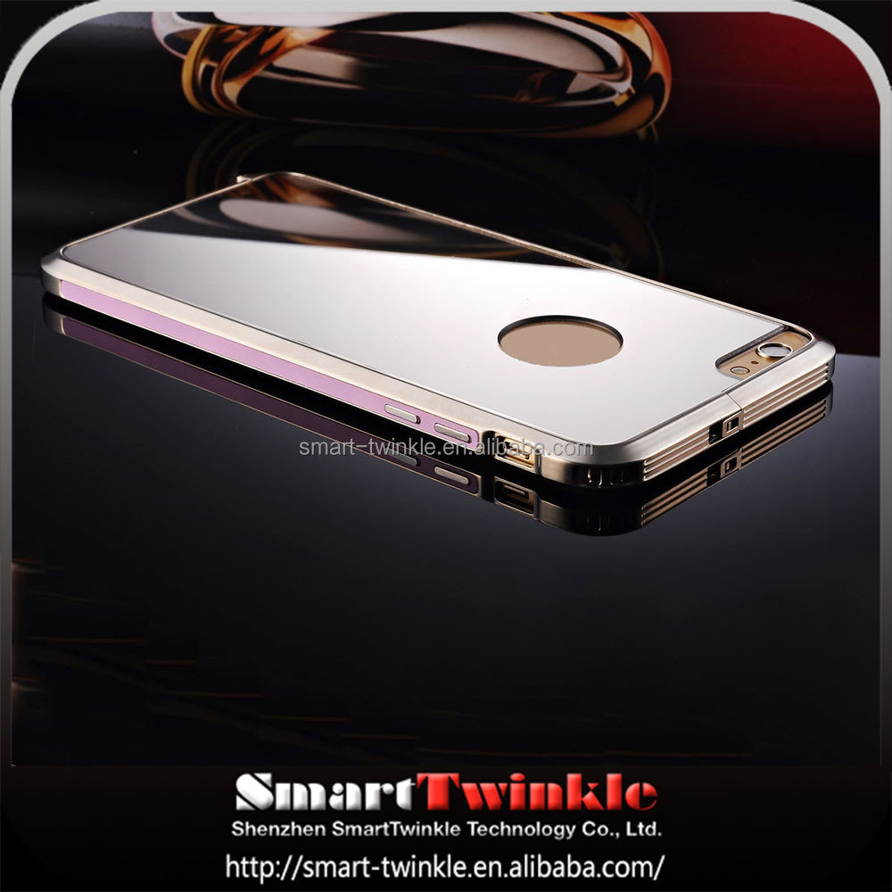 Fantastic Ultra Thin metal bumper mirror back cover