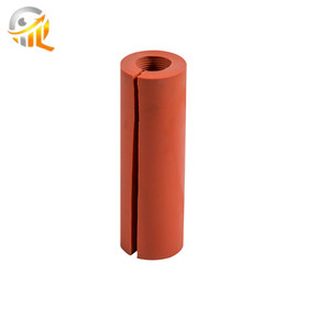 Service supremacy customized epdm silicone rubber roller with best price