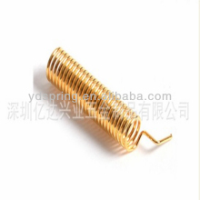 Small copper compression spring manufacture