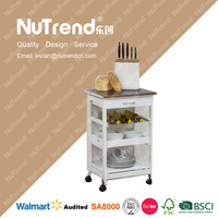 home fitment 100% Eco-friendly kitchen vegetable cart