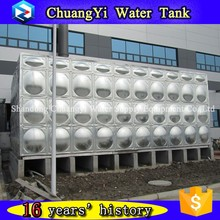 10000 liter stainless steel water tank price/ss sectional water tank / stainless steel modular water tank