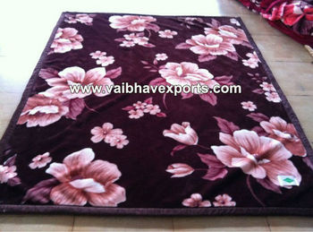 Super Soft Polyester Mink Blanket