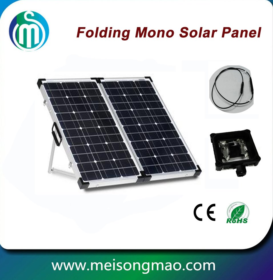 120w folding monocrystalline foldable solar panels for sale
