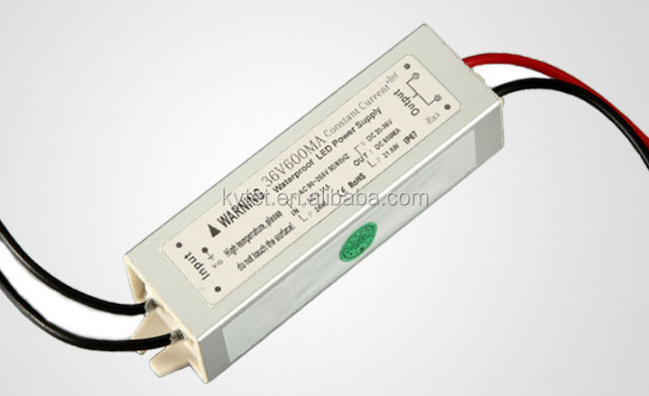 Constant Current Waterproof Led Driver 21.6W