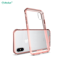 Hot selling phone accessories mobile phone back cover tpu case for iPhone X