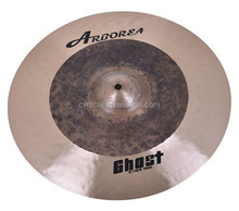 100% Handmade Black Pearl Ghost Series Cymbals For Sale