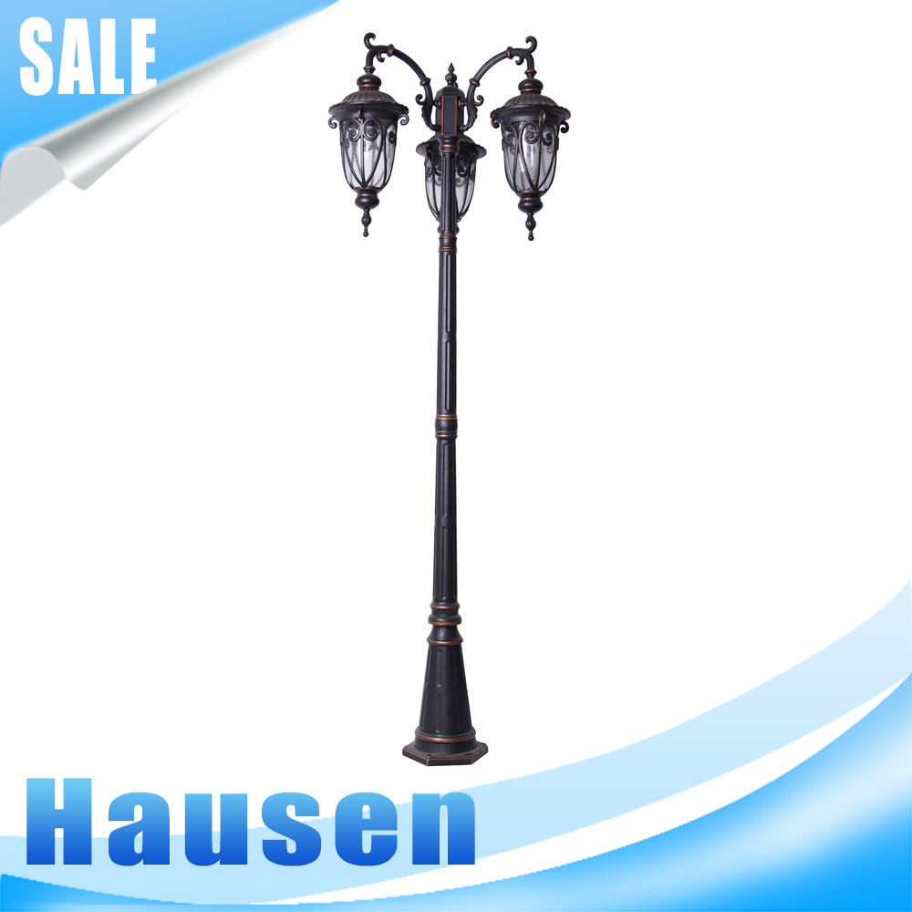 Manufacturer Die Cast Aluminum Garden Lamp Post