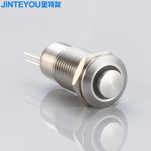 J12-261 momentary push button switch, micro led push button