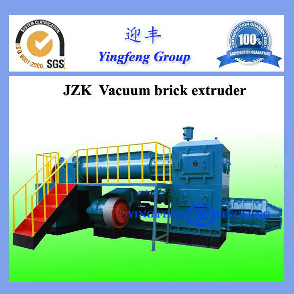 Red Brick/Block Making Machine with Two-stage Vacuum Extruder, Used for Solid Brick and Hollow Block