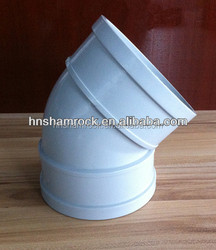 PVC Pipe Fitting 45 Degree Elbow For Drainage