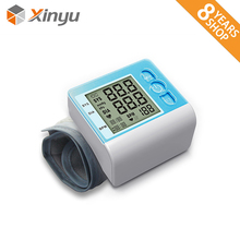 Hospital Home Wrist Tech Stand Electronics Rechargeable Digital Automatic Blood Pressure Monitor