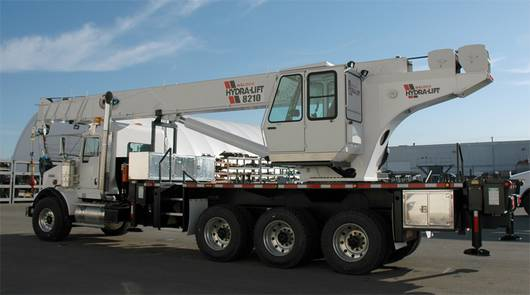 Truck mounted hydraulic crane 50 tons