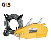 Hand wire rope winch/wire rope tirfor 3.2ton tractor for sale