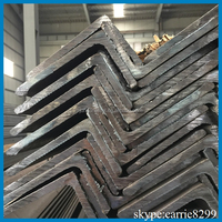 Galvanized 63*6 Size Equal Low Carbon Steel Angle For Solar Electric Structure DIN10025 Iron