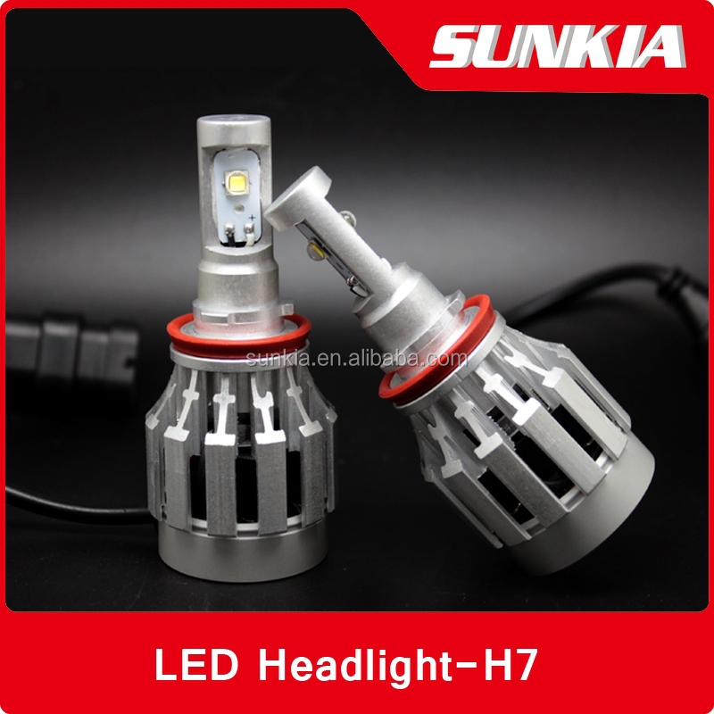 12v LED H7 Crees 3600lm LED Light Headlight Car LED Headlight H7