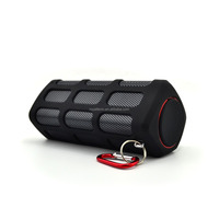 OEM experience Super bass portable waterproof bluetooth speaker with 5500mAh powerbank,waterproof bluetooth speaker