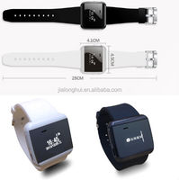 2014 newest digital U watch 2S with high quality speaker microphone mp3 waterproof bluetooth bracelet watch