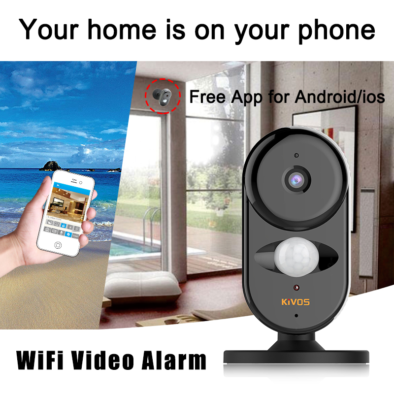 Wireless security alarm system High quality smart home WIFI IP alarm system auto alarms