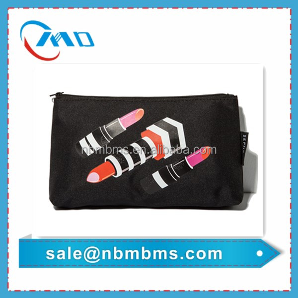 Custom Oxford Printed Ladies Make Up Bag