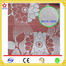 China Supplier Wholesale White And Red Nylon Flocking Fabric For Sofas