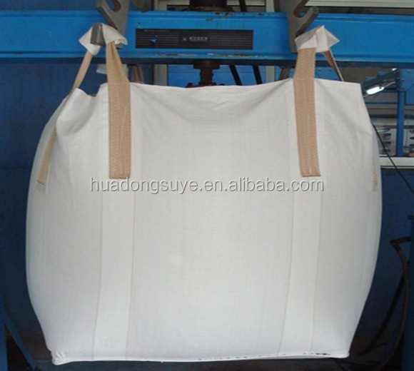 100% pp woven cheap 1 ton top skirt bulk bag factory in shandong