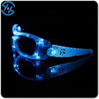 Brand New High Quality Flashing LED Space Light Up Sun Glasses Glow Rave Party Club Disco Gift Toy