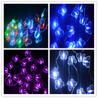 LED butterfly light string for outdoor tree decorative