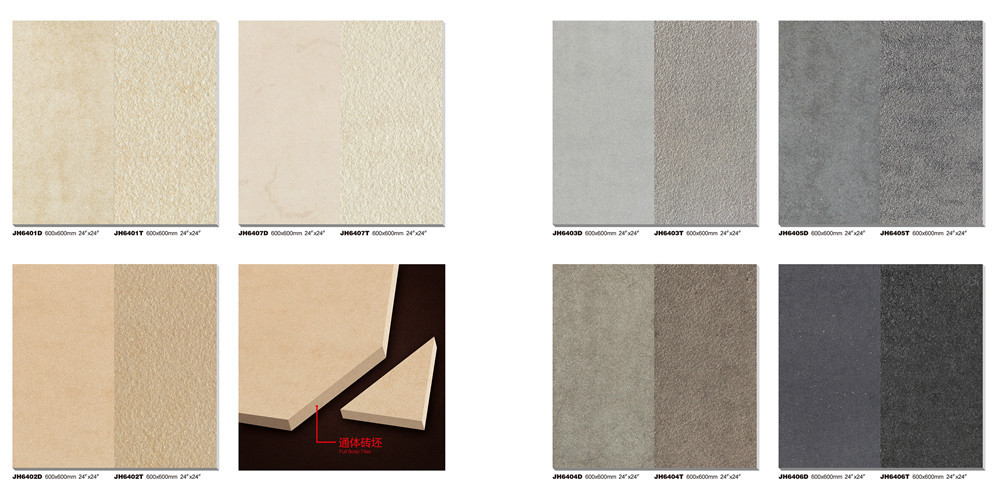 JBN Non Slip Bathroom Flooring 60*60 Hot Sale Tile Malaysia Rustic  Porcelain Tile Part 46