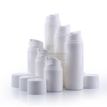 30ml 50ml 80ml 100ml 120ml 150ml Nice white color plastic lotion pump cosmetic airless bottle
