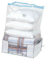 fabric foldable storage closet( 1 canvas Outer Cover/non-woven fabric cover + 1 vacuum storage bag)
