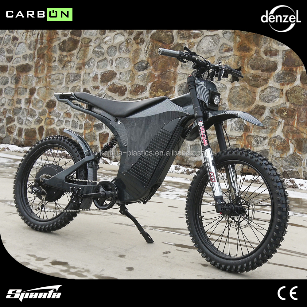 60V 2000W Sparta electric bike,Carbon fiber frame,ENDURO BIKE