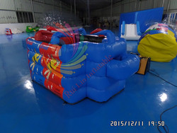 New inflatable football table for kids,inflatable human table football