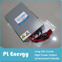 motorcycle/electric vehicle lithium battery pack 12v 120ah