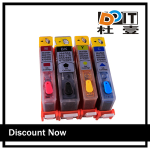 inkjet ink cartridge for hp deskjet 4625 printer with auto reset chips