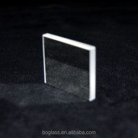 Optical grade glass lens blank