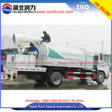 Good Price Dust removal truck with water fog cannon for mining and quarry Dongfeng 8Tons Water Tankers