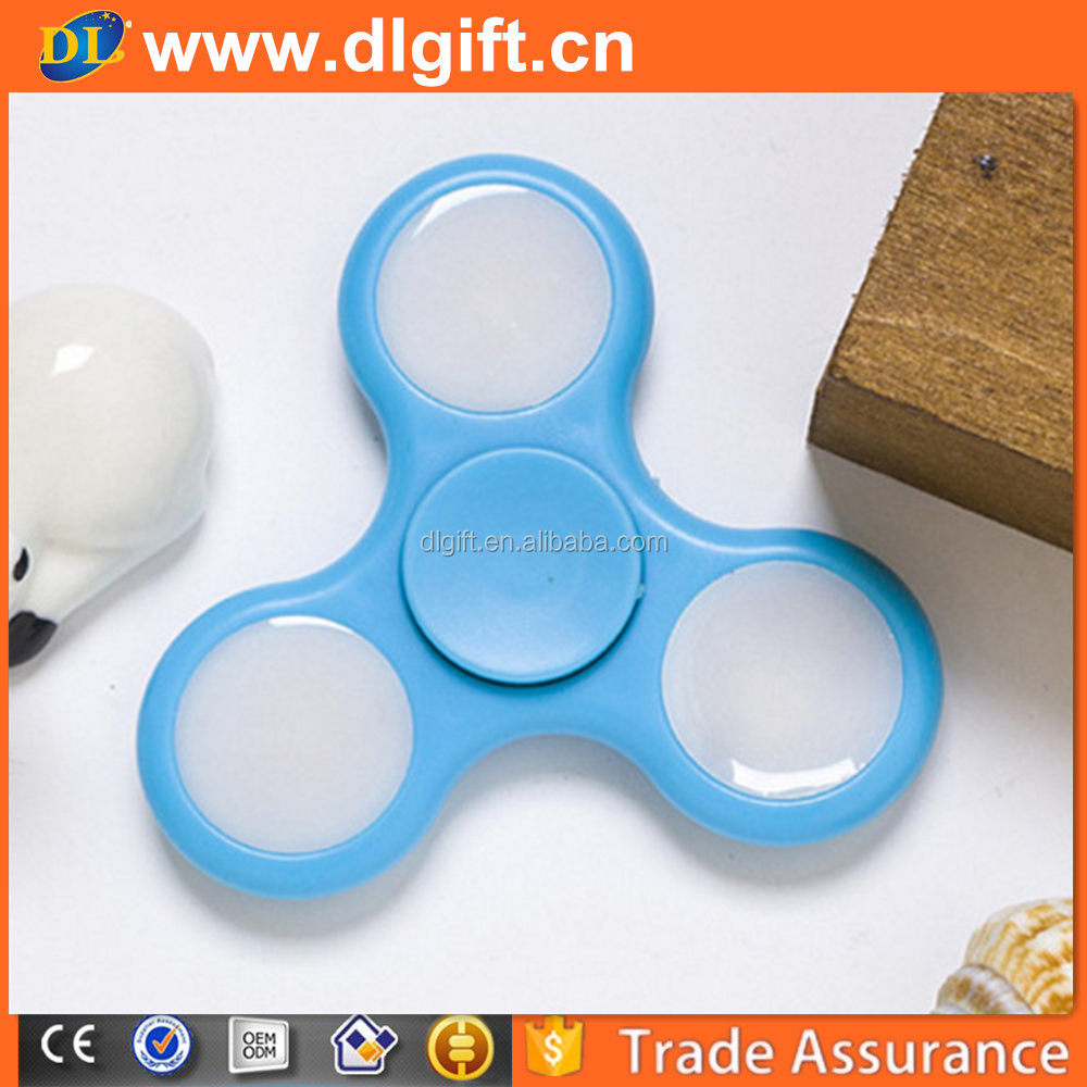 LED Light Fidget Spinner Finger Hand Spinner,NO.134 led fingertip gyroscope