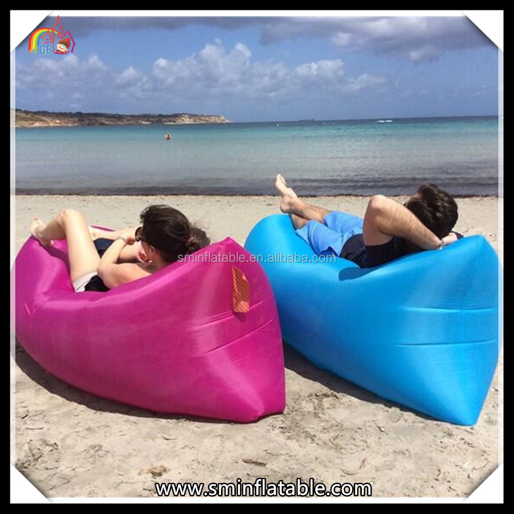 New design toys folding beach chair inflatable air lounge walking