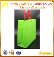 Image customized square bottom rope handle tote bag