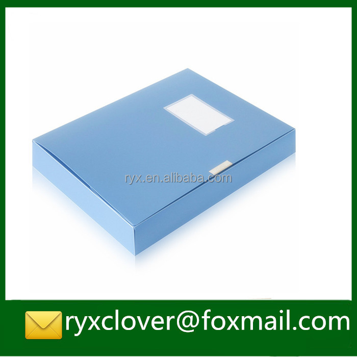 A4 size PP document boxes plastic box file folder for office