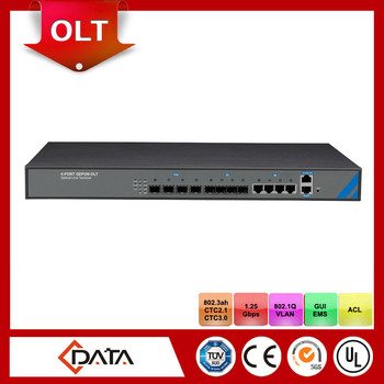 1U high 19 inch rack mount Pizza-Box EPON OLT