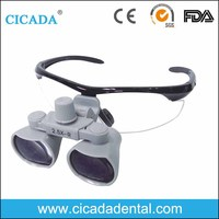 CICADA CE Approved Magnifying glasses 2.5X Binocular Dental Surgical Medical Loupes with China dental supply