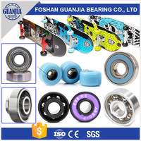 Chrome Carbon Steel Ceramic Skateboard Bearings 608 608ZZ 608zb 608z 608rs Bearing ABEC 7 9 8x22x7mm