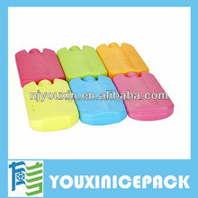 Non-toxic plastic material gel ice pack/Travel Ice Box Antique Ice Box