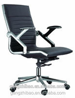 AB-145 Sunshine Furniture Modern Black PVC Leather Game Simulator Seat Office Chair Race Executive Computer Home