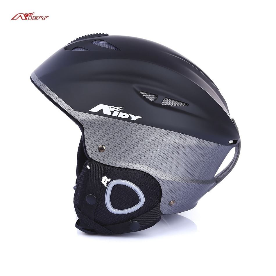 AIDY Adult Skiing Skating Skateboard Helmet with Adjustable Buckle Liner Cushion Layer